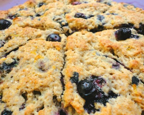Image of Saskatoon berry scones